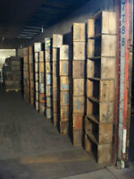 Store Displays  Wooden boxes Crate Box Container Vintage