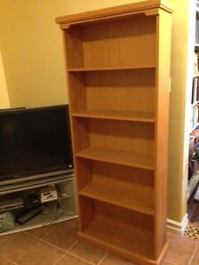 Large Solid Oak Bookcase