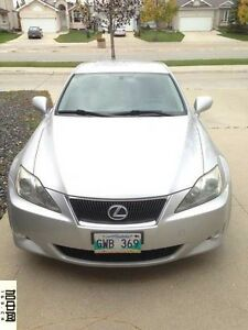 2007 Lexus IS250 AWD
