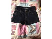 New look high waisted shorts size 12 new