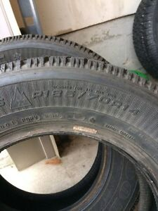 2x  185.70r14 Winter Tires London Ontario image 2