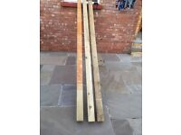 4inch fence post 3m lengths 5 in total