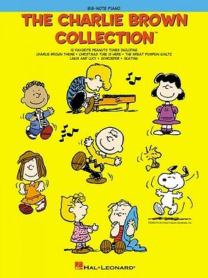 The Charlie Brown Collection Sheet Music Big Note Songbook NEW 000316071