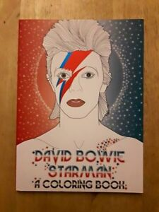 David Bowie colouring book