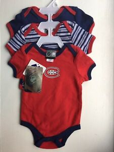 Authentic NHL Habs onsies