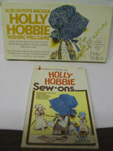 HOLLY HOBBY Game and Sew-On Dress-Up Set  (Truro)