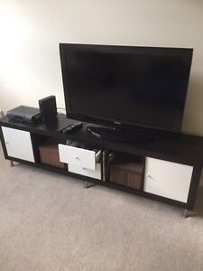 Ikea Tv stand with inserts