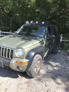 ***$1500 firm***  2003  jeep liberty Renegade  Full equip