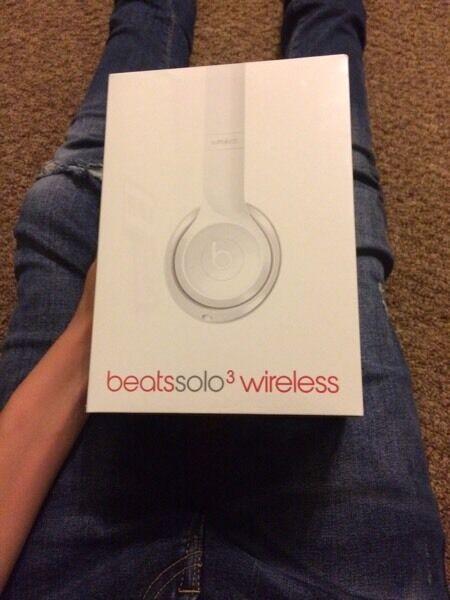 Beats Solo 3 Wireless white