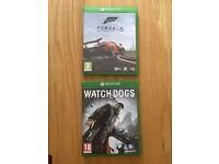 XBox One games - WATCHDOGS & FORZA 5