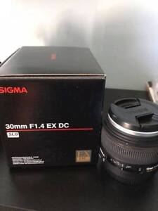 SIGMA 30MM F1.4 DC for CANON