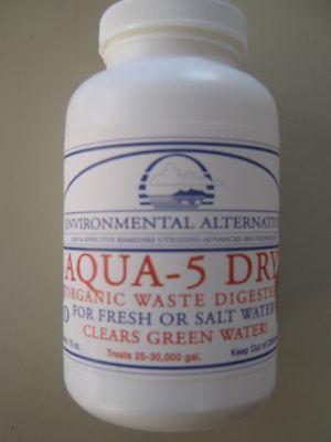 Aqua 5 Dry rein biologischer Wasserklärer für 37.500 l