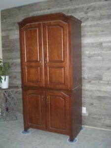 Available Now - Wood Wardrobe/Entertainment Unit