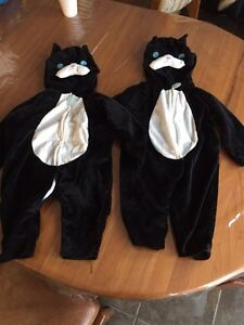 Two size 2t cat costumes for sale.