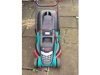 Bosch lawn mower hardly used