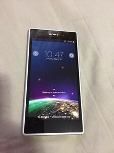 White Bell Sony Xperia Z1 C6906 16gb  Kitchener / Waterloo Kitchener Area image 1