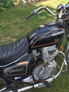 1981 Honda CM 400  *With ownership* London Ontario image 4