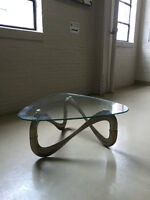 Sculptural coffee table in the manner of Hesterberg DESIGN RETRO