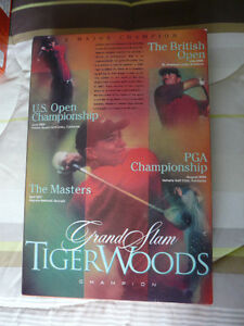 Wheaties collectible Tiger Woods cereal boxes West Island Greater Montréal image 4