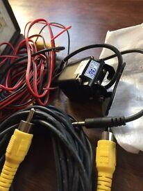 Reverse camera for van car camper