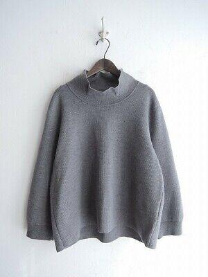 ゴーシュ Go-syu Japan Made Grey Pure Wool Knit Jumper RRP$628