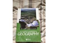 Geography book students companion