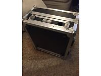 Mixer Flight Case with 2 fx unit space - good condition