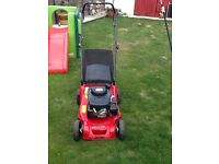 Mount field RS 100 petrol lawnmower works great cut 39cm good cond cb5 £75 ovno