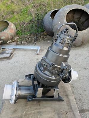 Sale Flygt Pump 3000 Series 6 Submersible Solids Handling 15 Hp. 460 Volt
