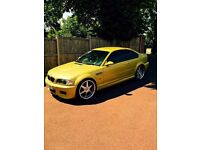 bmw M3 e46 phonix yellow manual