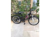 Girls Apollo 20 inch wheel mountain bike
