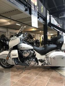 2018 Indian Motorcycle Roadmaster ABS Pearl White over Star Silv