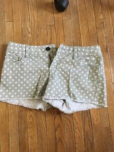 Lauren Conrad polka dot shorts