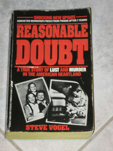 ...REASONABLE DOUBT..A True Story of Lust and Murder!...