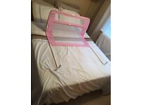 Lindam Bed Child Guard PINK Used