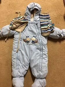 Baby snowsuit 6months