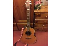 Ovation style electric semi accoustic