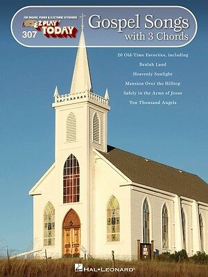 Gospel Songs with 3 Chords Sheet Music E-Z Play Today Book NEW 000100276