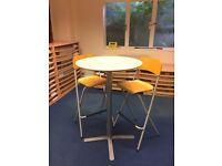 Ikea Bar Table & a Pair of Bar Chairs