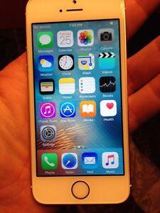 Rose gold iPhone SE Fido