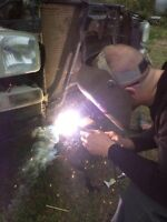 WELDING AVAILABLE FOR HIRE AT A GOOD PRICE
