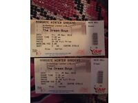 Dreamboy tickets margate £50 for 2 tickets 6 rows from front