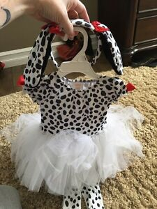 Gymboree Dalmation costume, Sz 12 to 24 months