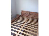 American, Solid wood kingsize bed