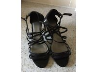 M&S black sandals size 5.5
