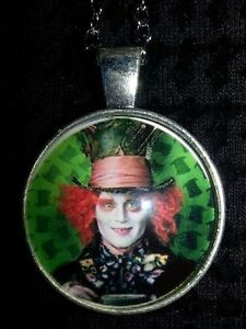 Mad Hatter and Cheshire cat necklaces