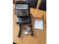 Krups espresso maker