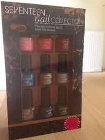 Seventeen Nail Collection x9 Piece Set