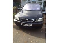 Vauxhall zafira 7 seater 1.6l petrol