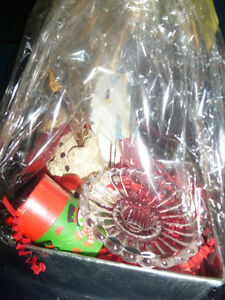 Custom Gift Basket (Partylite Candle Holder)